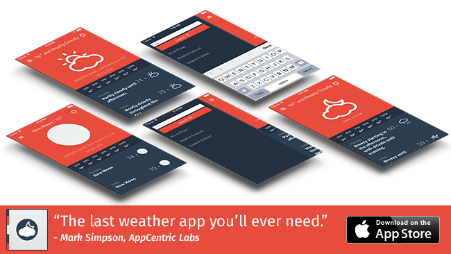 Download the last weather app you will ever need today